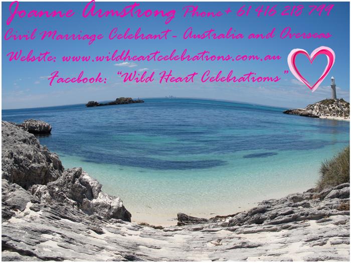 Wedding on Rottnest Island Western Australia