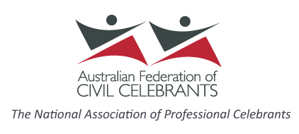 Member of the Australian Association of Civil Celebrants (AFCC)