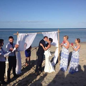 Wild Hearted weddings Geographe Bay