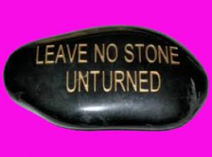 Leave no stone unturned says Joanne Armstrong