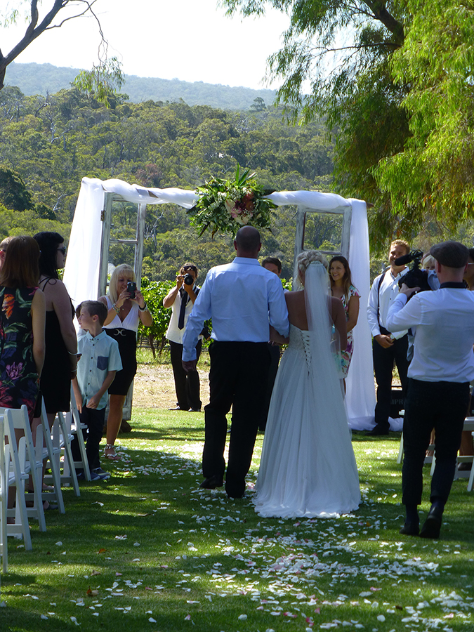 Weddings at Redgate Winery - Joanne Armstrong Wedding Celebrant