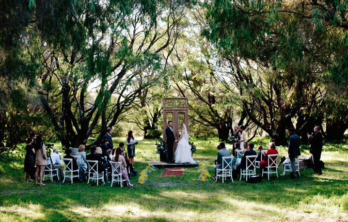 Stunning wedding at Solitaire Homestead