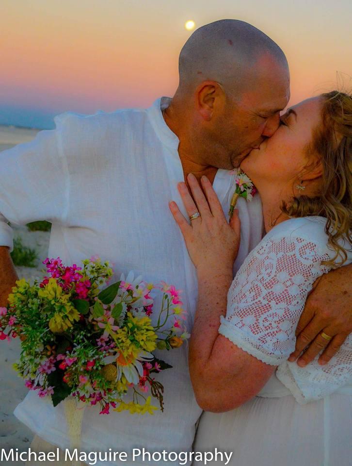 Beach themed wedding with Joanne Armstrong Wedding Celebrant