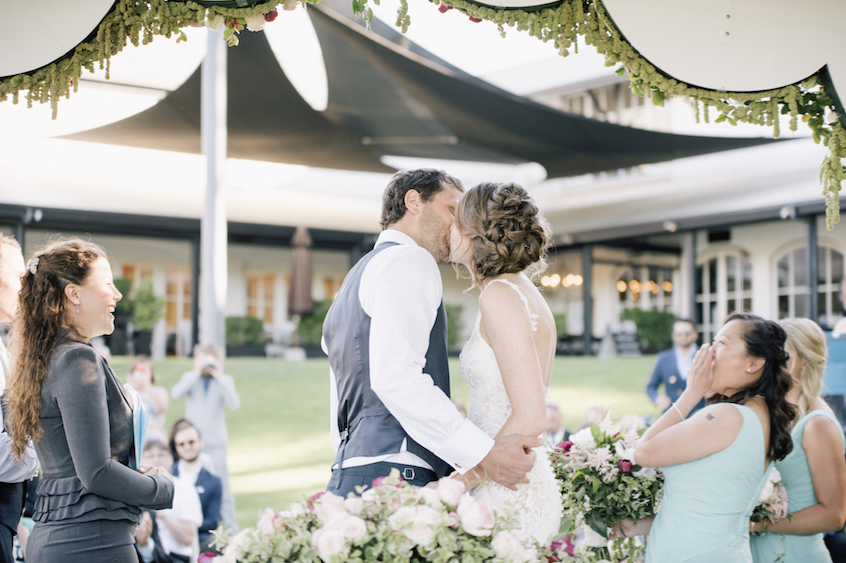 Aravina wedding with Margaret River Wedding Celebrant Joanne