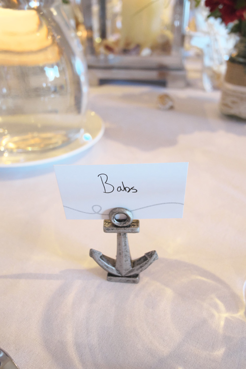 The cute streamlining ensured between the ceremony and reception's nautical themes! You can thank Bling Events for this! — at Ramada Resort Dunsborough.
