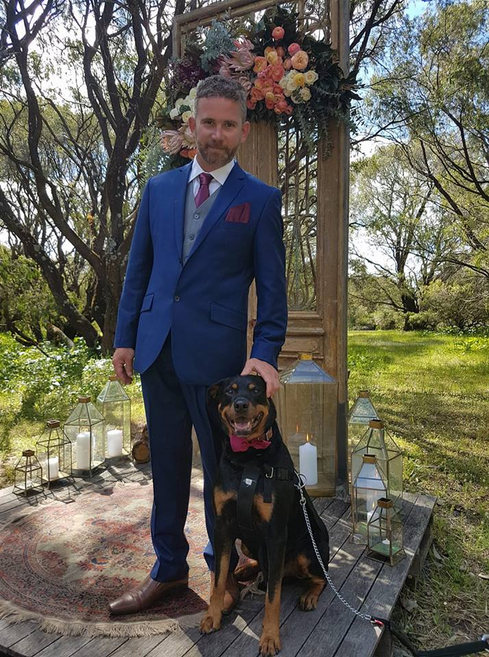 Solitaire Homestead Weddings dog friendly