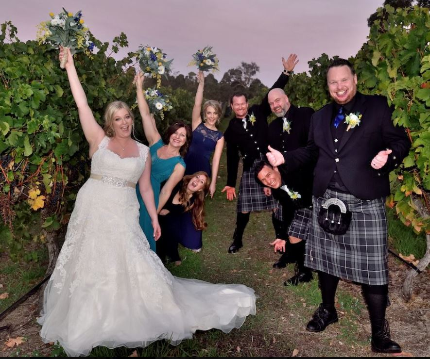 Scottish themed weddings are the best!