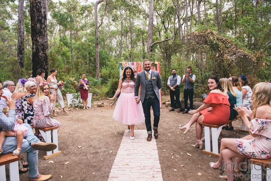 RAC Wharncliffe Mill Margaret River Wedding Ceremony
