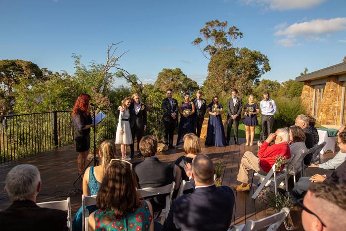 Eagle Bay Wedding Venue - Wedgetail