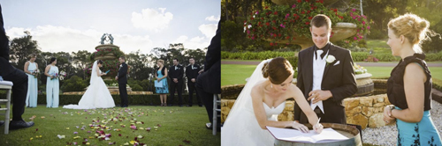 Laurance Wines - Weddings with Joanne Armstrong